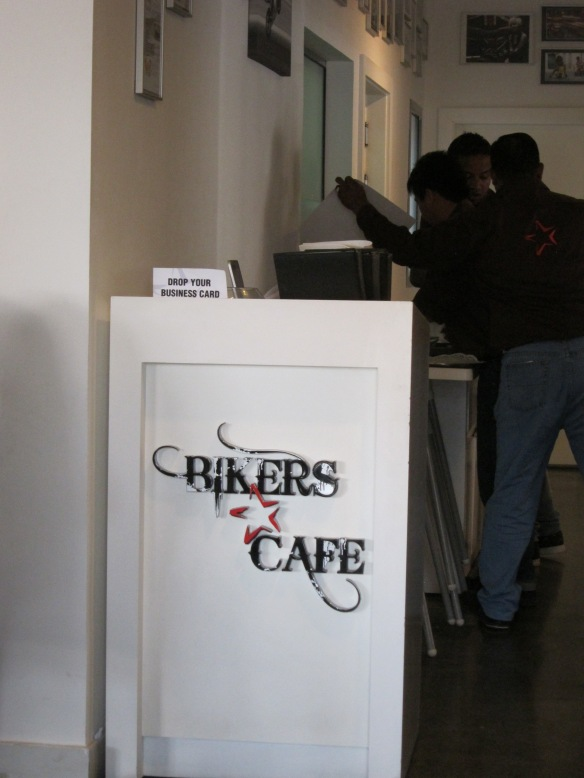 If you're after a taste of local cuisine come on down to Bikers Cafe. And no, you don't need to be a biker