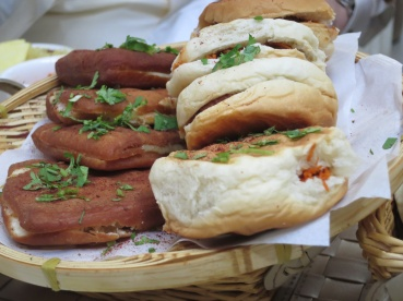 Bahraini kebab sandwiches are just delicious but they're not meat.