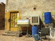 Despite the plethora of farms owned by wealthy Nadjis, there are still many Saudis who live in Old Diriyah in much poorer conditions