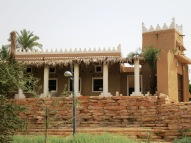 Shot from the Wadi Hanifah road, this is a farmhouse building