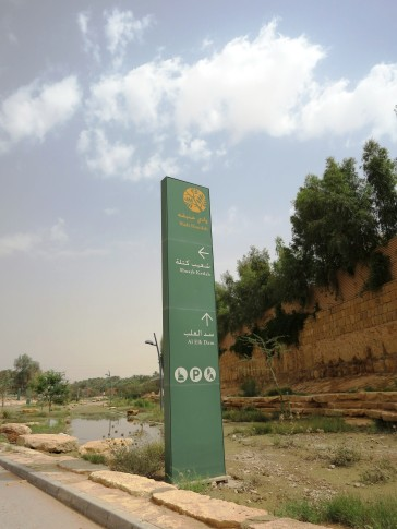 Al Elb Dam is at the furthest point of the Wadi and worth the drive down