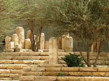The standing stones of Wadi Hanifah