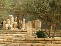 The standing stones of Wadi Hanifah