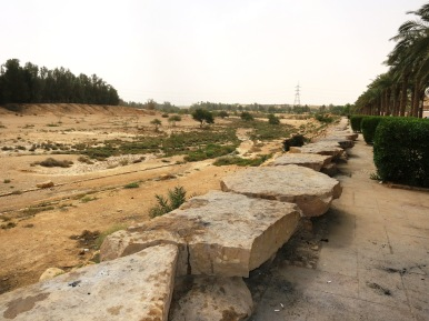 The view towards Diriyah from Al Elb Dam