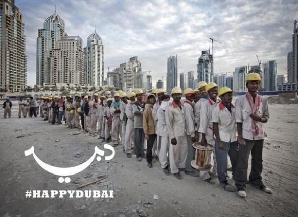 If you were working on #HappyDubai would you view this image positively or negatively?