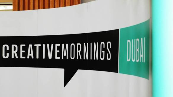 Creative Mornings Dubai is the latest (and greatest) addition to the creative industry in the city