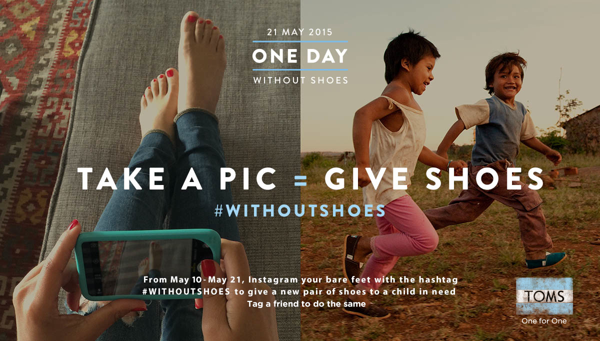 08c6f1253b1 One Day  WithoutShoes – How TOMS is getting consumer sustainability ...