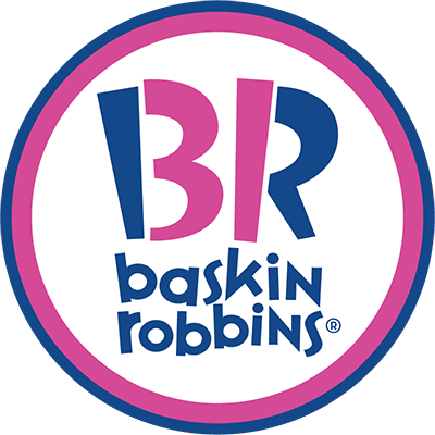 ...this, the world-famous Baskin Robbins logo which can be seen in every mall across the Gulf (and Dubai)