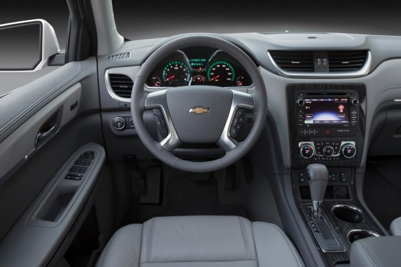 I enjoyed all of the tech in the Traverse and how its layout was convenient for me as a driver
