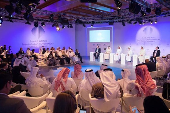 Dubai's World Government Summit has become a global event for government employees and is closely followed by the media (image source: Trade Arabia)