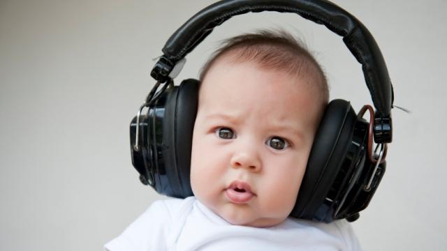 Listening baby