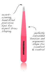 Pink tweezerman